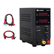 New Listingdc Power Supply Variable30v 10a 4 Digital Led Display Adjustable Regulated With