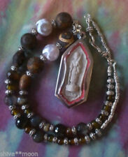 Gemstone Agate Awareness Costume Necklaces & Pendants