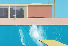 Y349 David Hockney A Bigger Splashist Silk Poster 14x21 24x36 27x40IN