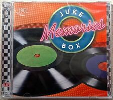 JUKE BOX MEMORIES 1961 (38 Track, 2CD TIME-LIFE Set) -BRAND NEW- Shrink Wrapped