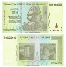 Zimbabwe 10 trilioni di dollari 2008 P-88 BANCONOTE UNC
