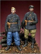 Alpine Miniatures 35041, WW2 Russian Tank Crew Set (2 chiffres), échelle 1:35