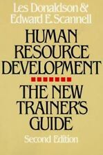 Human Resource Development: The New Trainer's Guide-ExLibrary