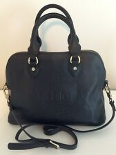 LIU JO Milano Color 22222 Nero Black L Satchel Women's Bag Cross Belt