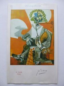 PICASSO SWISS PROOF COPY PRINT (MOUSQUETAIRE 1969) 'CANNES ISSUE' NO: XIII - SIG