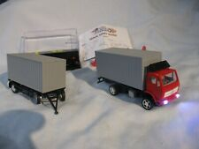 1/87th HO Scale RC Semi Container Truck and Trailer (1-OFF) POCKET RACER + HERPA