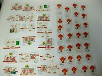 CHINA Stamps Collection Large Dealer Lot Used Postmarked Mounted Glued CHINESE
