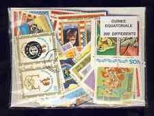 Guinée Equatoriale - Equatorial Guinea 200 timbres différents