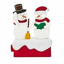 Hallmark 2018 Snow Many Memories Caroling Snowman Music Motion
