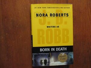 "J. D.  ROBB Signed Book(""BORN IN DEATH""-2006 1st Edition Hardback)(NORA ROBERTS)"