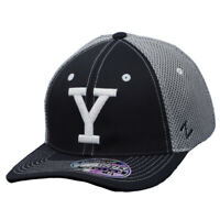 NCAA Zephyr Brigham Young Cougars Navy Flex Fit Medium Large Hat Cap Jersey Mesh