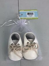 NWT Elk Kids Oxford White Booties Wedding Occassion Size 0 - 6 months