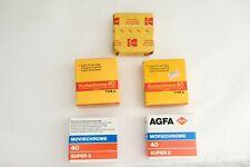 5x  Super 8 Film - AGFA - KODAK
