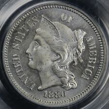 1880 3cn Proof Three Cent Nickel PCGS PR 64
