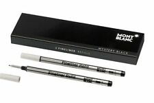 Montblanc Roller Ball Refills Mystery Black Broad (B) 2pc/pack - 105170