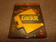 SENTRY PORTABLE LOCK'R KEEP/SAFE 7300Y LOCK IT & GO 4 NUMBER LOCK Cable LOCKER