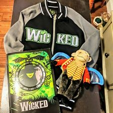 Wicked The Musical Broadway Bundle Jacket Flying Monkey Program
