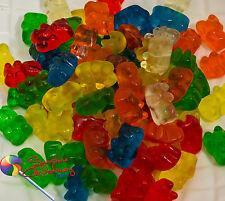 Gummi Bear Lollies-1kg (gummy bears) gluten free, Party Treats, Sweets Post Incl