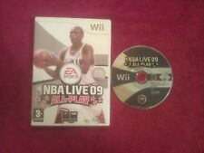 Nintendo Wii Nba Live 09 All-play Disco solamente Pal Uk