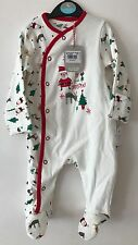 Adorable Baby Boy Girl Santa Christmas All In One 0-3 Months Tu Sainsburys