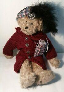 "Ganz ""Bernice"" Teddy Bear Cottage Collectibles by Carol E. Kirby CC228,1997"