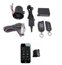 2 Way Car Alarm Anti Theft Security System G777 + G3 GPS Tracking Mobilink