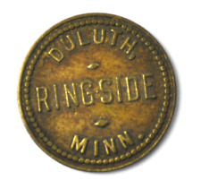 Ringside Billiards & Cigars Duluth Minnesota Trade Token 5c 20mm