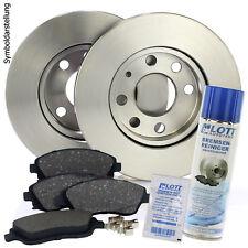 2 Bremsscheiben 240mm+Beläge hinten OPEL Tigra Twintop Corsa C Kasten+Reiniger