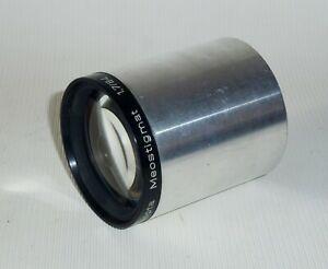 Meopta Meostigmat 1.7/84 ø62.5mm Meopta Czech Projector Lens Very Clean