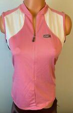 Louis Garneau - Pink Airdry Mesh - Sleeveless Jersey New Beeze Women's 3/4 Zip