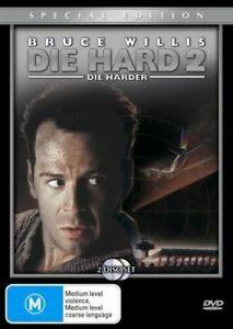 DIE HARD 2 Two Die Harder DVD (2 DISC) BRUCE WILLIS - Action Movie - AUSTRALIAN