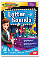 Letter Sounds DVD by Rock 'N Learn (NEW)