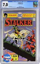 STALKER #2 (1975) 1ST PRINTING 2ND APP OF STALKER DC BRONZE AGE CGC FN/VFN 7.0