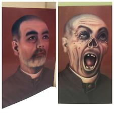 """Style Victorien """"Père O 'Brien"""" 6.5"""" X 8.5"""" Hologramme Photo-Fright Night!"""