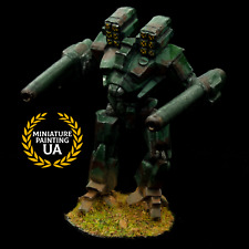 ⭐️Painted Heavy Robot Battletech / MechWarrior MWO Limited Edition OOP Figure⭐️