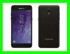 NIB Samsung Galaxy J3 2018 GSM Factory Unlocked Black ORBIT/STAR 16GB World Phon