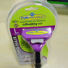 New listing Furminator DeShedding Tool - Long Hair Removal Tool for Cats Grooming Brush