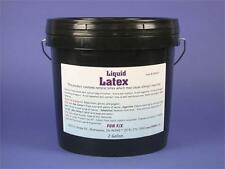 Liquid Latex-Two Gallon Pail-High Solid Content, Less Shrinkage-Sculpting, Molds