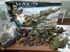 Halo Mega Bloks Set #96824 UNSC PELICAN DROPSHIP Used