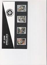 1987 ROYAL MAIL PRESENTATION PACK ST JOHN AMBULANCE MINT DECIMAL STAMPS