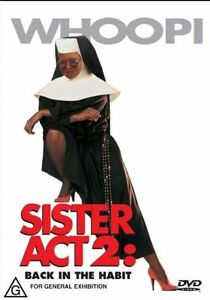 Sister Act 2 Back In The Habit DVD 2002 Brand New & Sealed Region 4 PAL
