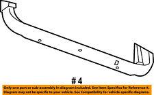 Jeep CHRYSLER OEM Cherokee Radiator Core Support-Lower Bracket Left 68195879AA