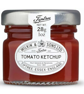 Wilkin & Sons Tiptree Tomato Ketchup X72 Jars  40g Individual portion BBE Aug 21