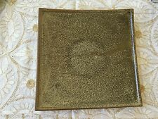 Ceramic Square Plate by Country Originals - Brown Large