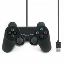Dual Vibration Gamepad Shock JoyPad Controller für PC Kabel USB Joystick