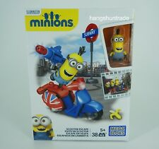 Mega Bloks Despicable Me Minions Kevin the Minion Scooter Escape Playset