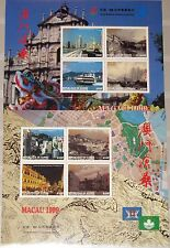GUINEA 1999 Klb 2404-11 1531-32 CHINA 99 Stamp Exhb. Return Macao City Views MNH
