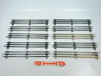 BW86-2# 10x Märklin Spur 0 Gleis gerade (32 cm) für elektrischen Betrieb