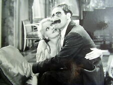 ORIGINAL OLD PROMOTION-PHOTO:  GROUCHO MARX & THELMA TODD~HORSE FEATHERS