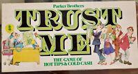 Trust Me Vintage 1981 Parker Brothers Board Game Complete Property Investment